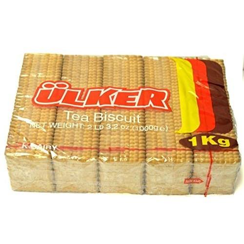 Ulker Tea Biscuits, 2.2lb 1000g 2.2 lbs