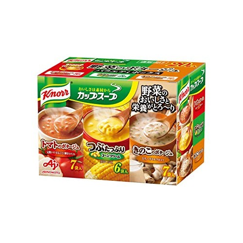 Knorr Cup Soup vegetable potage Variety box 20 bags Japanese Edi...
