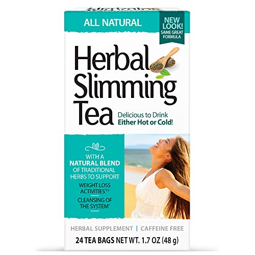21st Century Slimming Tea, Natural, 24 Count Pack of 3