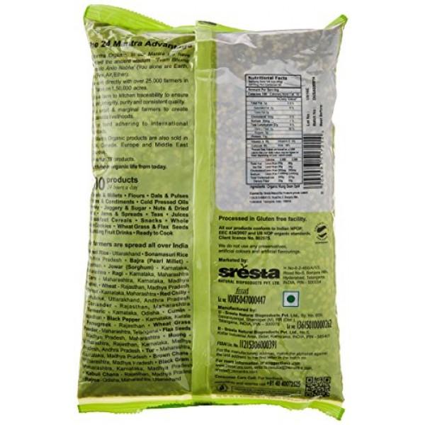 24 Mantara 24 Mantra Organic Green Moong Dal - 4 Lb,,