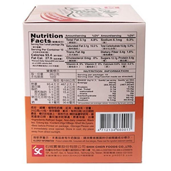3:15pm - Original Milk Tea, 7.06 Oz - 10 Bags Pack of 2