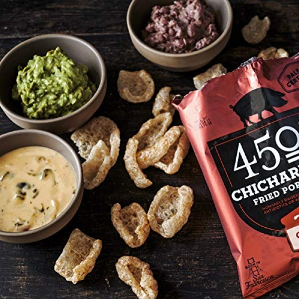 4505 Classic Chili & Salt Pork Rinds, Certified Keto, Humanely R...