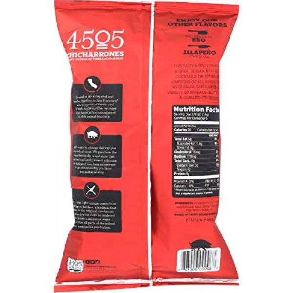 4505 Meats, Chicharrones, Fried Pork Rinds, Classic Chili, 2.5 O...