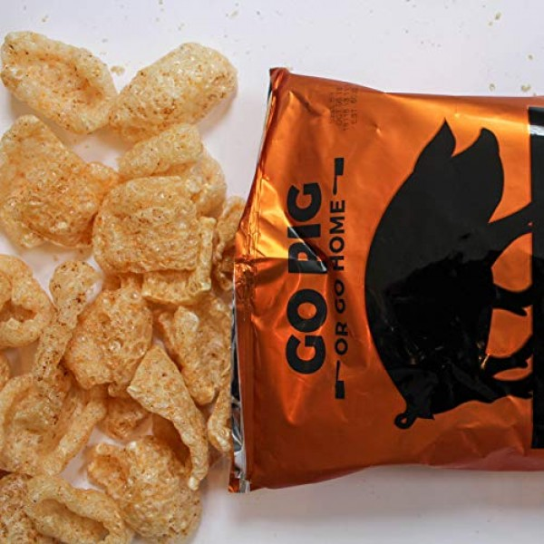 4505 Smokehouse BBQ Pork Rinds, Certified Keto, Humanely Raised,...