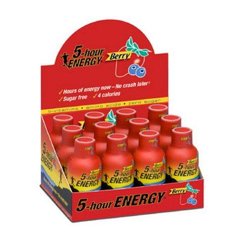 5 Hour Energy 12 Bottles Berry