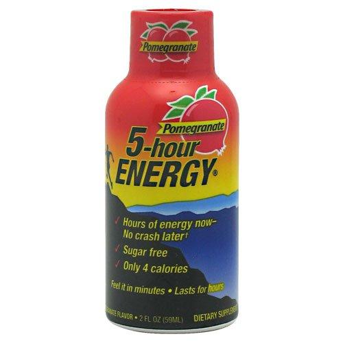 5 Hour Energy Living Essentials Pomegranate - 12 Bottles