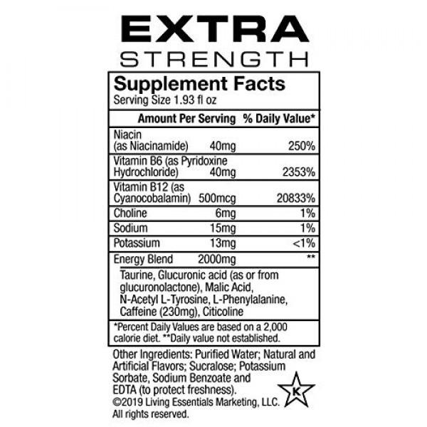 5-hour ENERGY Shot, Extra Strength Berry, 1.93 Ounce, 24 Count