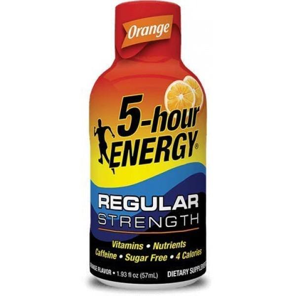 5-hour ENERGY Shot, Regular Strength Orange, 1.93 Ounce, 24 Count