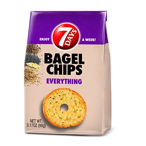 7Days Bagel Chips, Everything, No Artificial Ingredients | GMO-F...