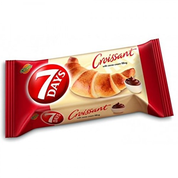 7 Days Croissant with Coca Cream Filling From Greece - 15 Packs ...