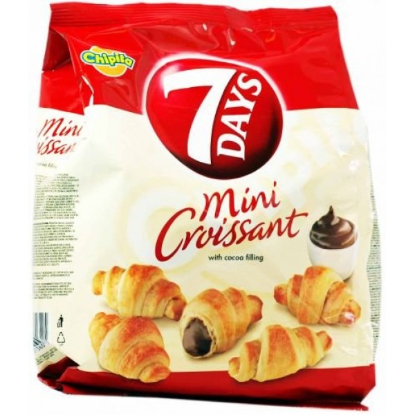 7 Days Mini Croissants with Coca Cream Filling From Greece - 20 ...