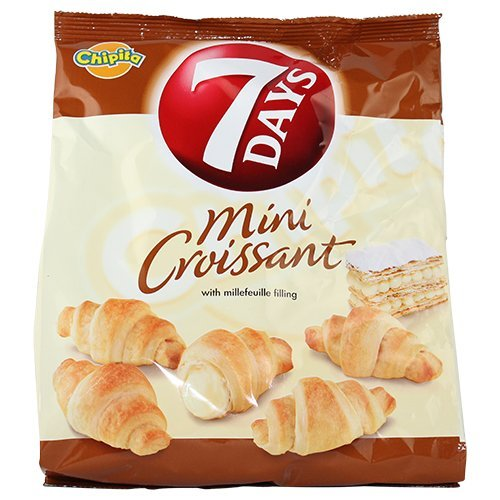 7 Days Mini Croissants with Millefeuille Filling From Greece - 8...