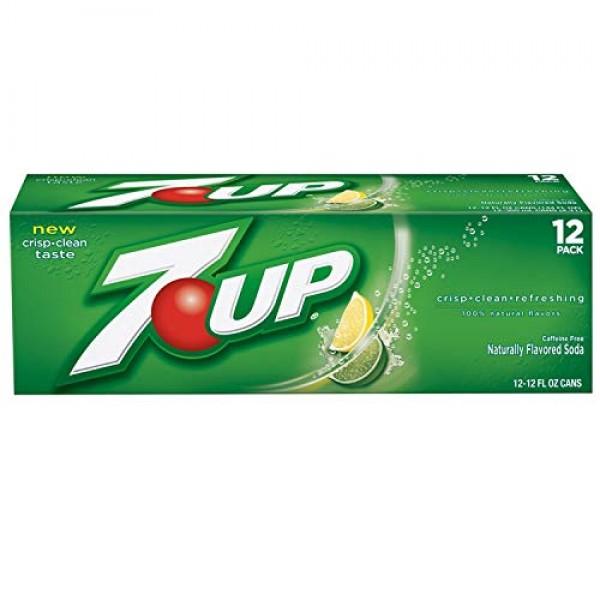 7-Up Lemon Lime Soda, 12 Ounce 12 Cans