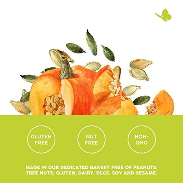 88 Acres, Organic Pumpkin Seed Butter, Nut-Free, Non-GMO, Dairy-...