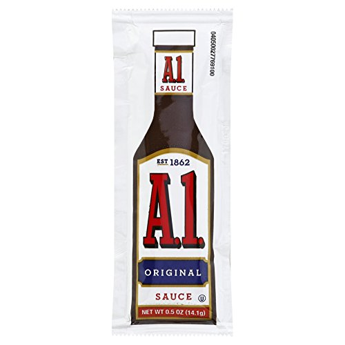 A.1. Original Steak Sauce Single Serve (0.5 oz Packets, Pack of ...