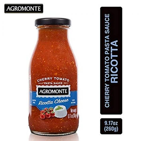 Agromonte Authentic Italian Cherry Tomato Pasta Sauce Ricotta C...