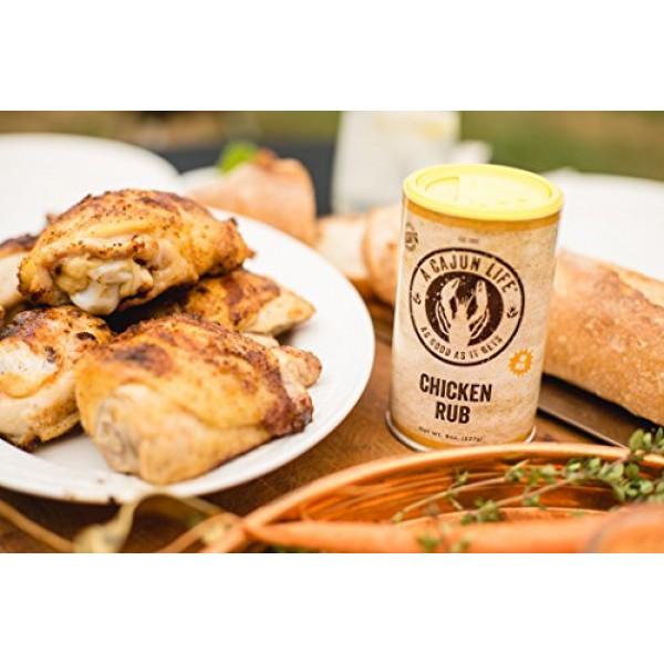 A Cajun Life Chicken Rub Seasoning | Authentic Certified Cajun C...