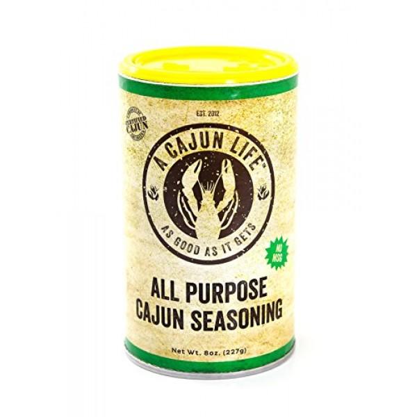 A Cajun Life Original All Purpose Cajun Seasoning   Authentic Ce...