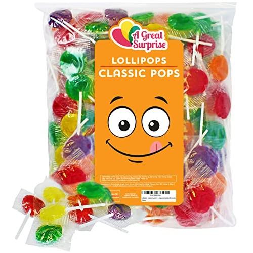 Lollipops - Candy Suckers - Classic Lollipops - Assorted Flavors...