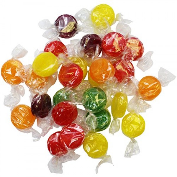 Fruit Flavored Hard Candy - 4 LB Bulk Candy