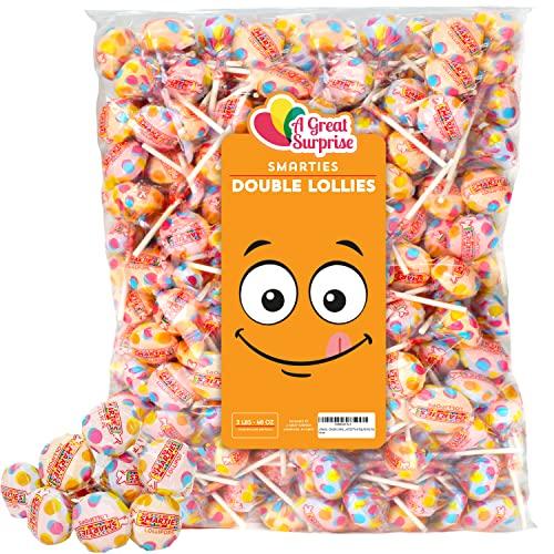Smarties Lollipops - Smarties Double Lollies, Bulk Individually ...