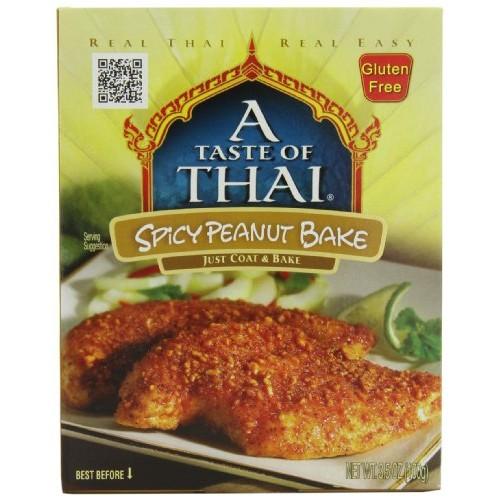 A Taste of Thai Spicy Thai Peanut Bake, 3.5-Ounce Packets Pack ...