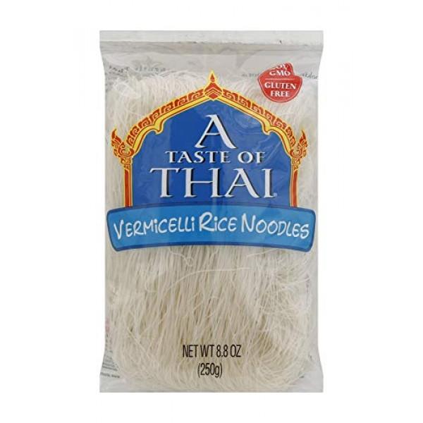A Taste of Thai Vermicelli Rice Noodles, 8.8 Ounce