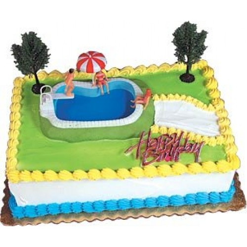 Cake Decorating Kit CupCake Decorating Kit Sports Toys Swimming...