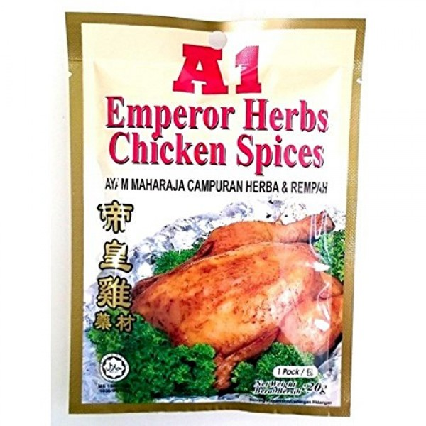 5-Pack Malaysia A1 A.K. Koh Herbal Soup / Delicious Nourishing C...