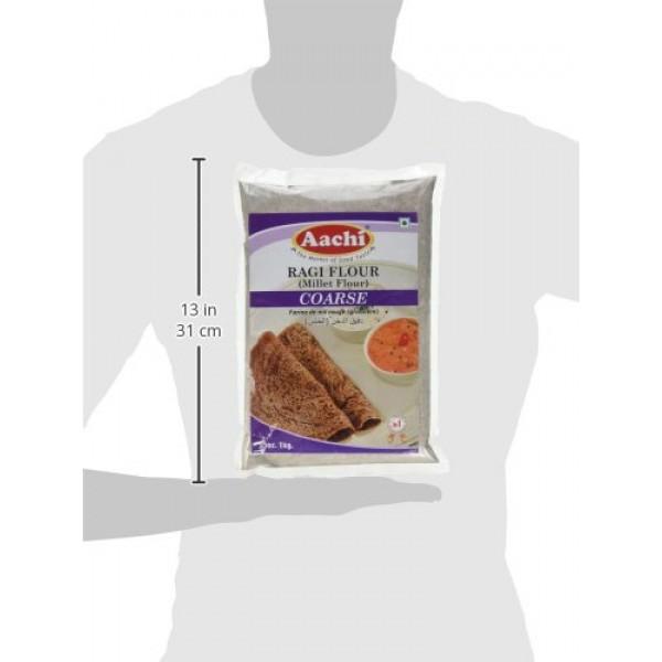 Aachi, Ragi Flour Millet Flour Coarse, 2 PoundLB