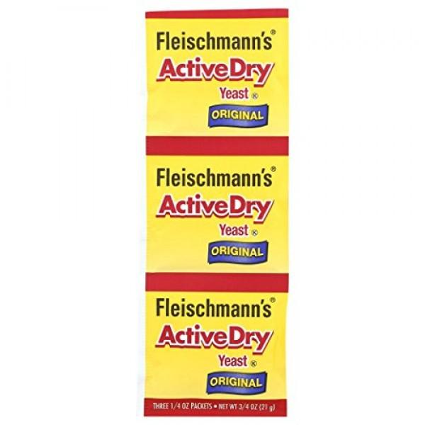 Fleischmanns Active Dry Yeast, The original active dry yeast, 0...