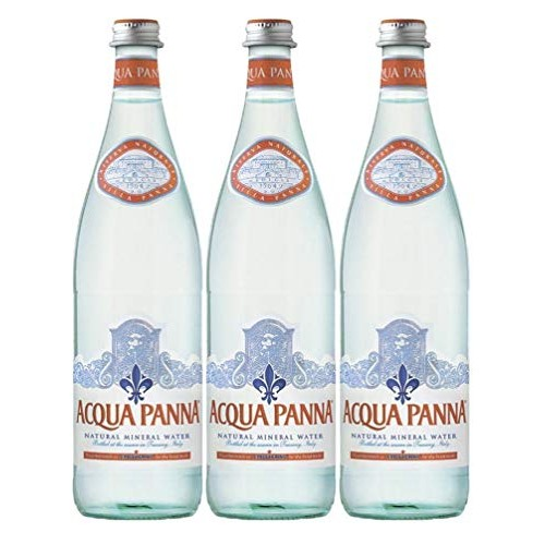 Acqua Panna Natural Spring Water, 25.3 Oz Glass Bottle (Pack of ...