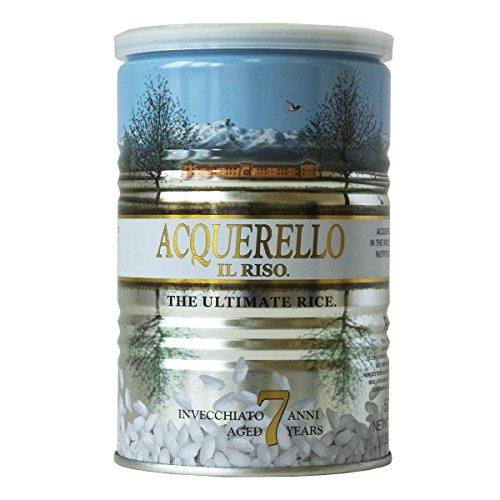 Acquerello Italian 7 Year Aged Risotto Rice 17.6 Oz Tin
