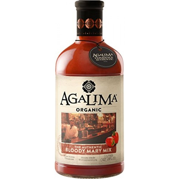 Agalima Organic Authenic Bloody Mary Drink Mix, All Natural, 1 L...