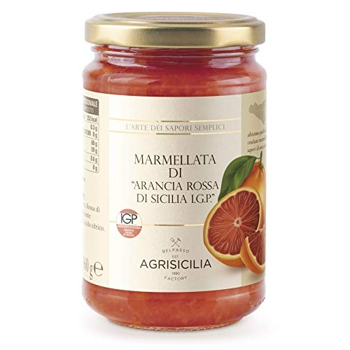 Sicilian Jam by Agrisicilia - Blood Orange Marmalade 12.7 ounce