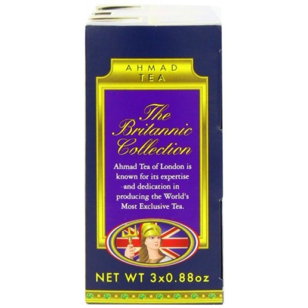 Ahmad Tea Britannia Collection, Loose Tea, Three Variety Flavors...