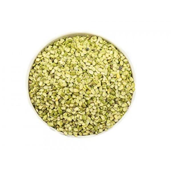 AIVA - Moong Dal with Husk Mung Split Green Gram Split- 4 LB