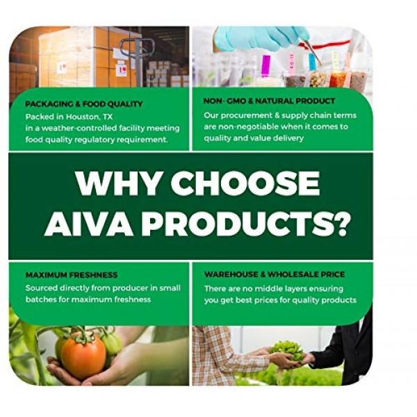 AIVA Organic Fenugreek Seeds Whole Methi 14 oz