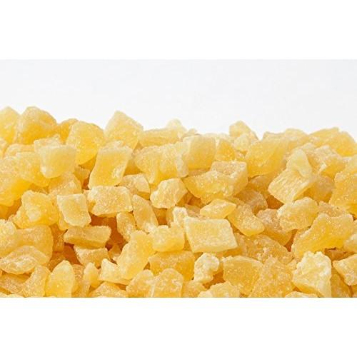 AIVA - Diced Dried Pineapple Premium Grade, 1 lb