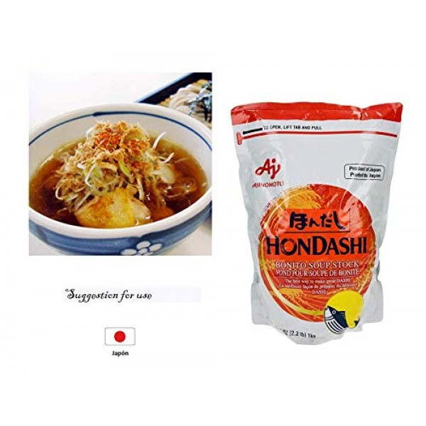 Ajinomoto Hondashi Bonito Soup in flake of 2.2lbb