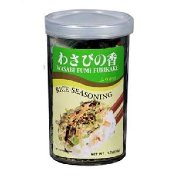 Ajishima Wasabi No Ka Wasabi Fumi Furikake,sprinkled on top of...