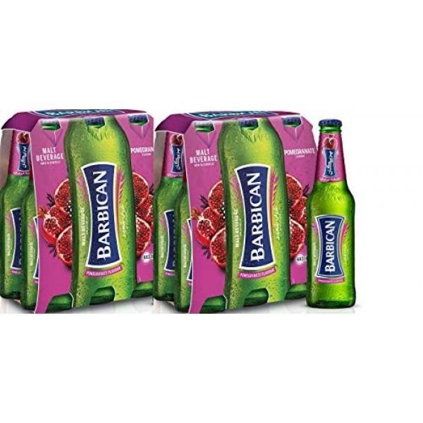 Barbican Pomegranate Flavor Malt Beverage Non Alcoholic Drink - ...