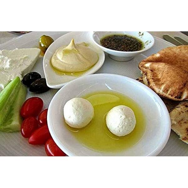 Baroody Plain Pickled Labneh Balls Dry Yogurt in Oil 20.oz/5...