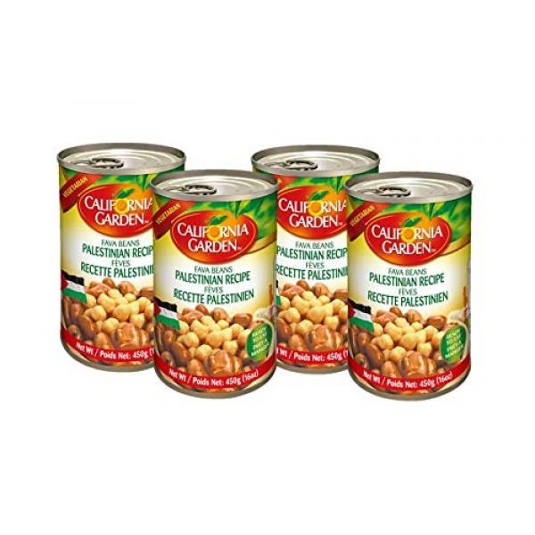 California Garden Fava Beans with Chickpeas Palestinian Recipe 4...