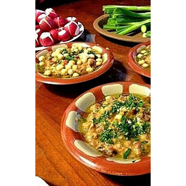 California Garden Premium Kosher Fava Beans with Chili 8 Cans 16...