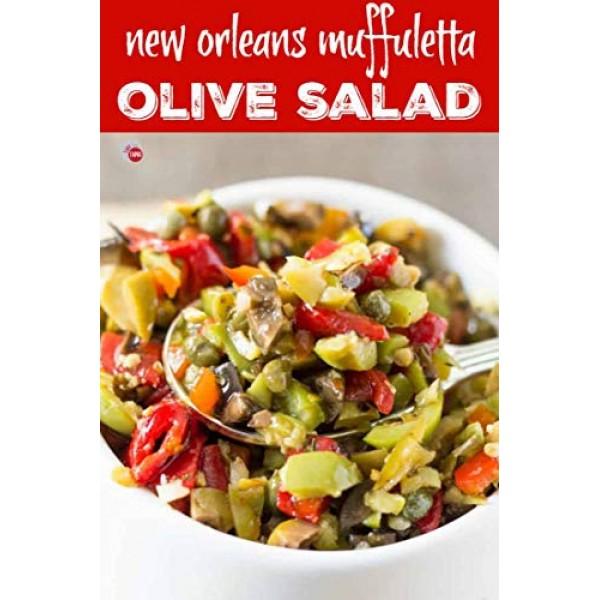 Central Grocerys Regular Famous Italian Olive Salad 2 Jars 16oz...