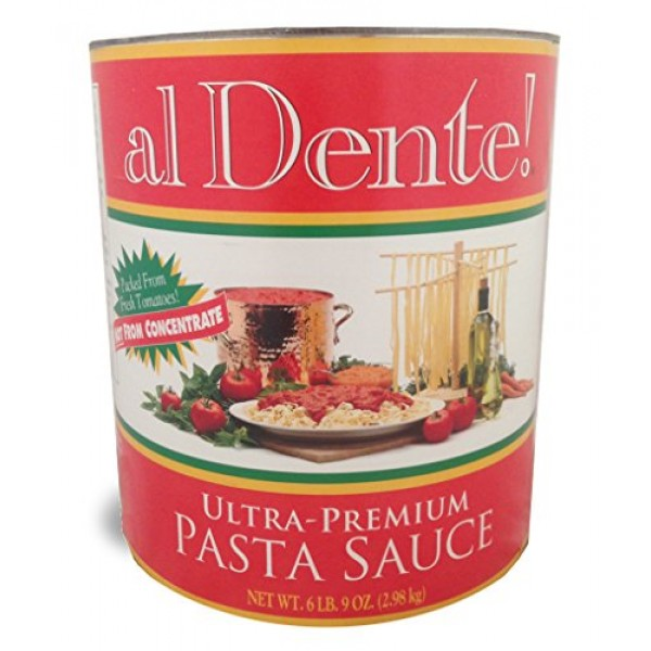 al Dente!, Stanislaus Ultra Premium Pasta Sauce, Size #10 can 6...