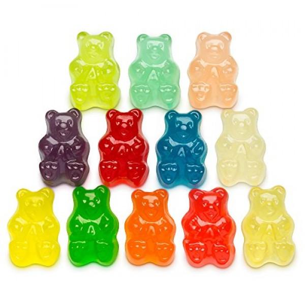 Albanese Worlds Best 12 Flavor Gummi Bears, 5 Pound Bag