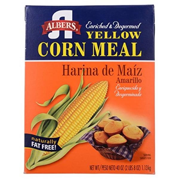 Albers, Yellow Corn Meal, 40 oz