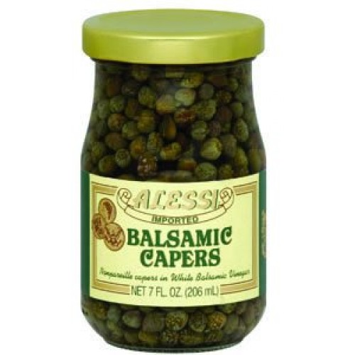 Alessi, Caper Balsamic, 7-Ounce (6 Pack)